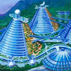 乌托邦:朝鲜年轻建筑师设计的未来建筑