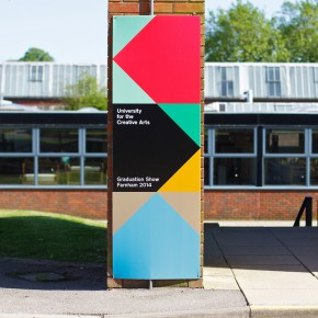 UCA2014毕业设计展指示系统设计