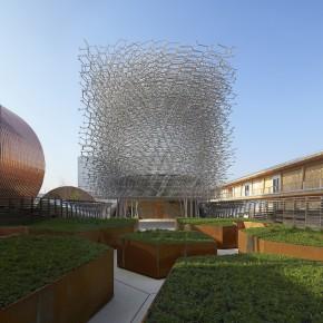 """2015米兰世博会英国馆""""蜂巢""""已完工"""