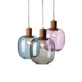 Picia灯:吹制玻璃与天然软木的华丽组合