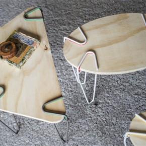"""装上这些""""腿儿"""",任何平板都能变成桌子"""