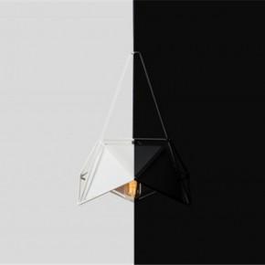 黑白几何灯