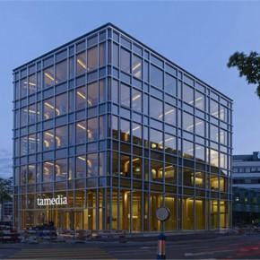 跟随镜头走进Tamedia办公大楼