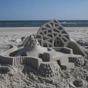 艺术家是这样玩沙子的