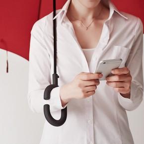 解放双手的Phone-brella