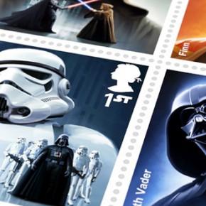 """英国推出""""星球大战""""主题纪念邮票"""