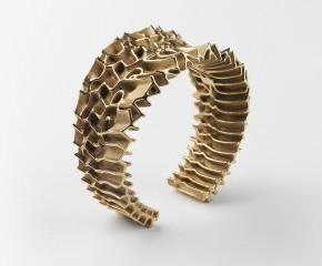 3D打印镀金首饰