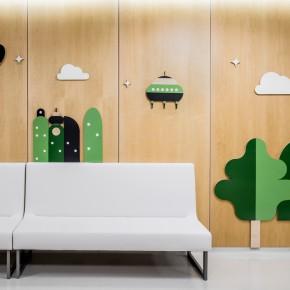 """巴塞罗那的这间儿童医院是一处""""爱心乐园"""""""