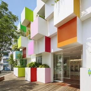 日本最美的彩虹银行