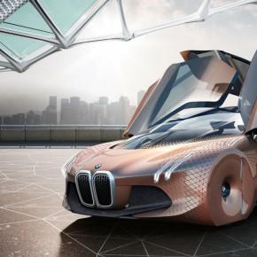 BMW为自己100周岁生日设计的概念车长啥样儿?