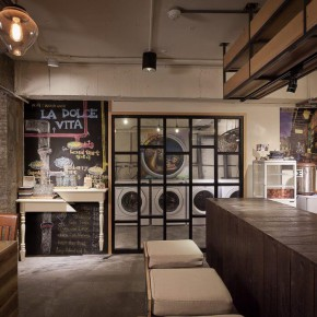 洗衣店+甜点,亚洲第一家洗衣咖啡店就这么奇葩地诞生了