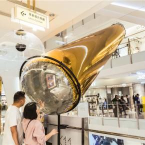 """他们在香港时尚文化地标K11做了一个""""超级黃金泡"""""""
