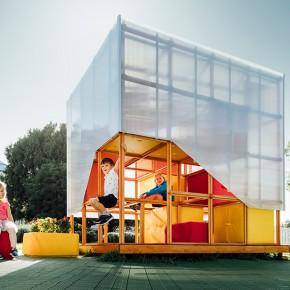 一群孩子参与设计的游乐场