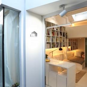 12平米的迷你别墅,并非单身公寓而是三口之家