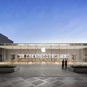 同是苹果体验店,风格却如此不同