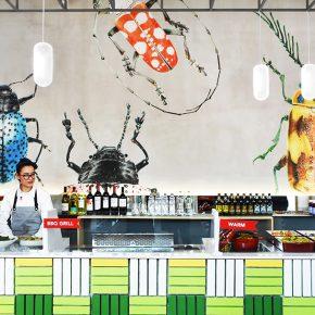 一家满是昆虫的餐厅,却捕获了吃草族的芳心