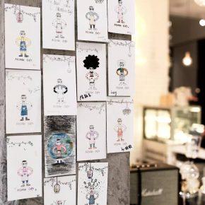 这家神秘的咖啡店,有人专门来这画了幅画