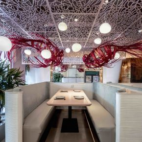 去这家餐厅吃饭,你能收到锦鲤的祝福