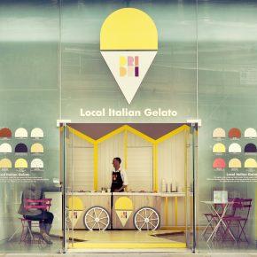 如何在伦敦市中心享受地中海风情?这家冰激凌快闪店帮你做到!
