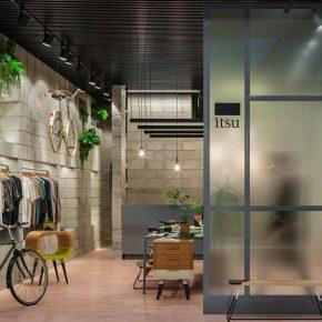 混凝土也能拥有潮味儿!看看巴西这家店怎么玩?