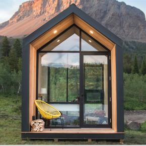 这个10平米的小屋不仅功能齐全,还可以即装即用!