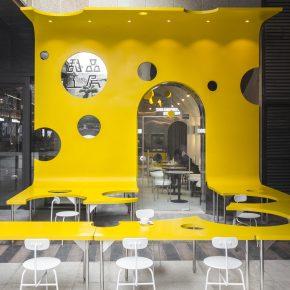 堂晤设计丨成都仁和新城甜品工房
