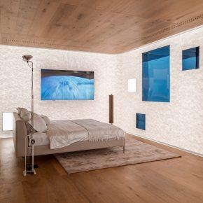 这间客房模糊时间与空间,带你感受未来居住新体验!
