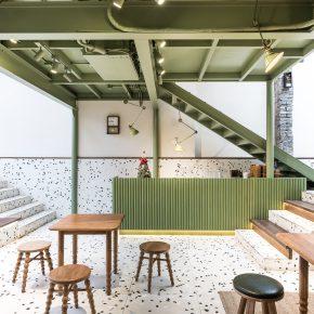上海彦文建筑工作室丨Fine咖啡