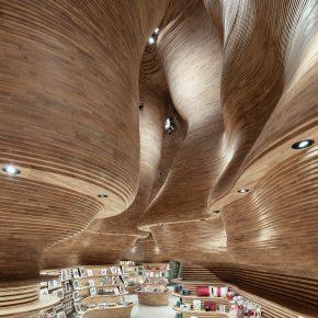 国宝级沙漠景观给予灵感,博物馆商店成了一件艺术品