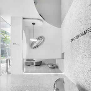 缐状建筑设计研究室丨ORCHID SPA 2.0 镜水花月