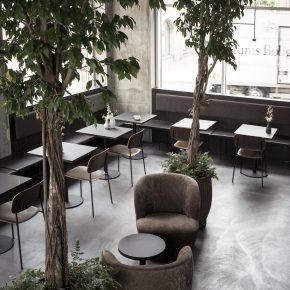 暗黑工业风餐厅这样设计,太有格调了!