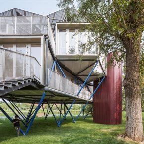 众建筑——湖边插件塔 Lakeside Plugin Tower