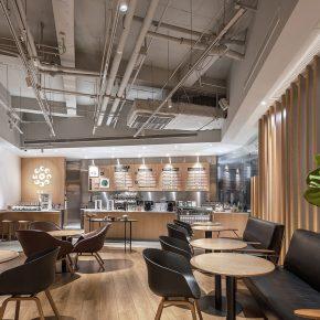 南筑空间设计丨武汉木从久咖啡茶馆