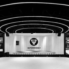 GLC杰奥斯建筑设计丨超级猩猩广州天环店