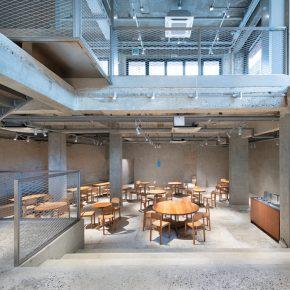 毛胚房里卖咖啡?韩国首家蓝瓶咖啡店就这么有个性!