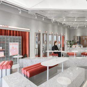 或者设计丨七月闲茶,国潮新式茶饮空间