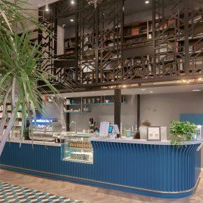 三文建筑丨798某艺术书店室内设计