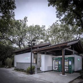 """界建筑设计事务所丨苏堤中间遇到一个""""多用""""的公厕"""