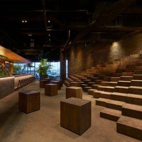 """风靡全球的综合体商场却在顶层开了家""""泥土味""""餐厅"""