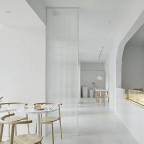 未止空间设计丨早安时甜品店