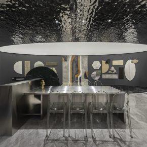 磐洲设计丨西德尼石材展厅