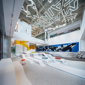 研趣品牌设计丨智能虎鲸,马克华菲办公空间