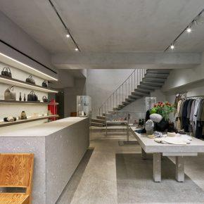 时尚买手店玩起极简风,混凝土也是时尚宠儿了!