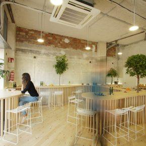 """这家执着于""""种树""""的西班牙餐厅,让人忍不住想去打卡!"""