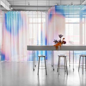 """莫斯科新型共享美容沙龙空间,凭一款窗帘""""颜值""""飙升!"""