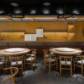 寒山室内设计丨廖昆玉客家餐厅
