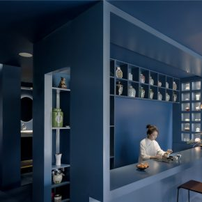 帕姆建筑丨深海茶室-拾一區茶书房