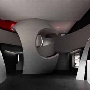 艾克建筑设计丨哈尔滨SOOYOU美容院
