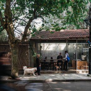 刷刷建筑|上海永嘉路VOYAGE咖啡馆