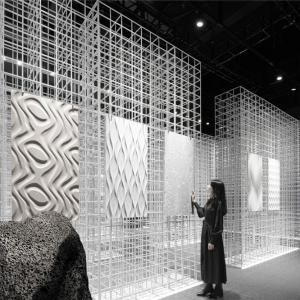 共生形态 | 2020广州设计周画王大理石展厅